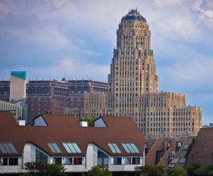 Buffalo New York City Hall - 32 story art deco