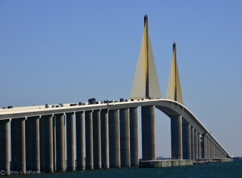 Sunshine Skyway Bridge, Tampa, Florida