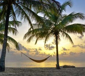 A beautiful beach near Hopkins, Belize