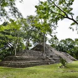 Cahal Pech, Mayan temple and center, Cayo, Belize
