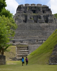 Xunantunich Mayan ruin, Cayo, Belize - an ongoing archeological research site dated from 1000 BC to AD 200
