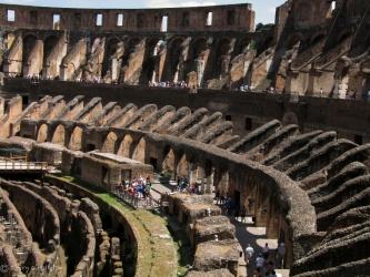 Colosseum Interior, Rome
