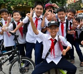 Vietnamese schoolboys
