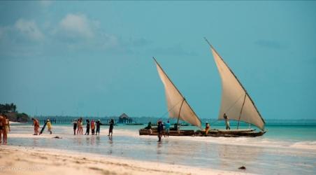 Tour Boats Zanzibar, Africa
