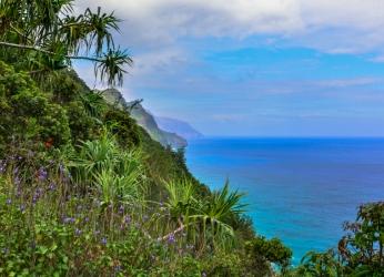 Na Pali Coast trail, Kaua'i