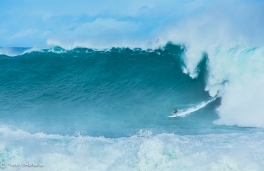 """The Eddie"" surf competition, Waimea Bay, Oahu"
