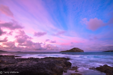 Makapu'u at sunset, Oah'u
