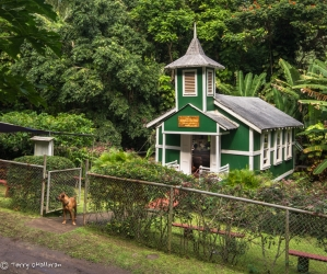 Church in Halawa Valley, Moloka'i