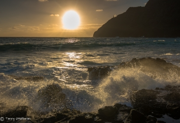 Sunrise near Makapu'u Lighthouse, Oah'u