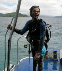 Dive master, Papua New Guinea