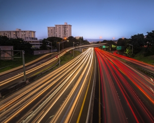 Rush hour Honolulu