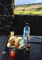 pupus and cocktails on the Big Island